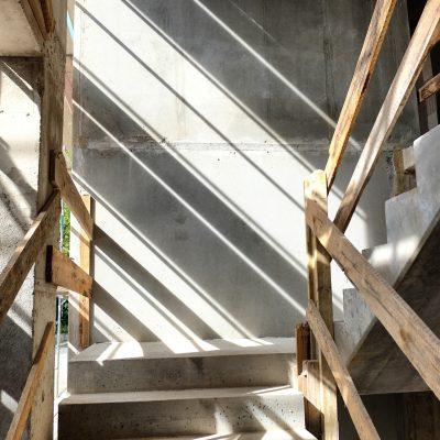Baustelle von Architekt in Solingen; muellerarchitekt.; Entwurf, Genehmigungsplanung, Ausführungsplanung, Vergabe, Bauleitung